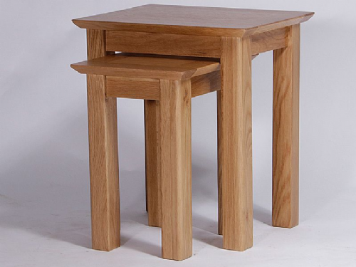 Kingsley Oak Nest of Tables